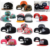 Wholesale CHENCQJ snapback hats custom snapbacks hat adjustable szie AAA quality drop shipping Hip hop mix order