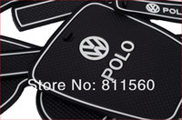 other other other VW 2012-2014 polo PVC door gate slot mats, tank gasket , cup mats,auto accessories car trim