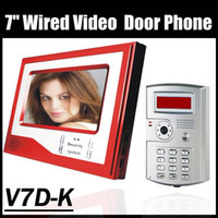 Wholesale Access Control Door Phone commax video phone support ID CARDS and password home phone