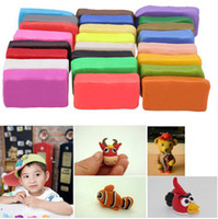 Wholesale 24 set Colorful fimo Effect Polymer Clay Blocks Soft Moulding Craft Creative Fun