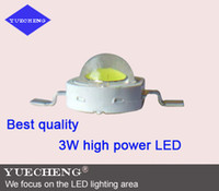 Wholesale best quality W high power led lamp beads with Bridgelux mil chip high lumen w high power led light source