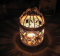 candles and candle holders - 2015 New Arrival Romantic Wedding Favours Iron Lantern Candle Holder for Wedding Table Decorations Supplies