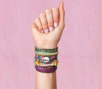 Wholesale Retail Chic Magnetized Clasp Brazilian Glamour Wrist Hipanema Holiday Bracelet
