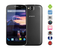 Wholesale rugged phone ZOPO ZP990 mobile smart phone g inch cdma android unlocked mtk6589t Quad Core GB Ram GB Rom bluetooth MP Camera