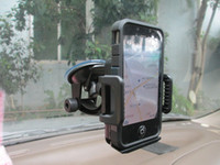 GPS navigation support  brand new car holder Auto supplies a suction cup navigator display circular base vehicle mounted mobile phone holder appl