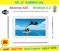 """irulu 10 inch Dual Core IRULU 10.1"""" Allwinner A20 Tablet PC Android 4.2 Dual Core Capacitive Touch 1.5GHZ 1G 8GB DDR Dual Camera HDMI WIFI 10.2"""" MID Tablet PC 10"""""""