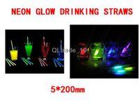 Wholesale 8 inch Premium Assorted Glow Stirrers x200mm colors TV193