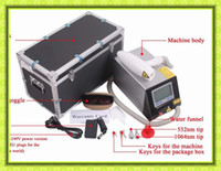 Wholesale PROFESSIONAL Q switch TATTOO EYEBROW FRECKLE Q SWITCH YAG LASER REMOVAL MACHINE e9