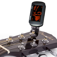 Wholesale Guitar Tuner Digital LCD Clip On Electronic Acoustic Chromatic Guitar Bass