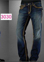 Wholesale TRUE3030 Blue famous brand jeans tr men jean Cheapest price and top quality casual Male models men s Jeans Size