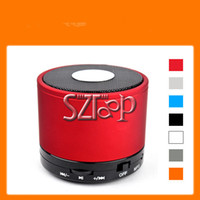 Wholesale MINI Speaker Wireless Bluetooth Speaker Portable with Retail Box Muti Color for Iphone PSP Xbox