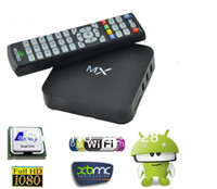Wholesale Hot Selling AMLogic MX Android TV Box M6 Dual Core GB GB Cortex A9 ghz Support XBMC Youtube in Store