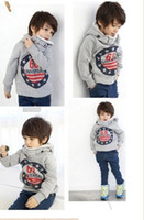 Boy Spring / Autumn Long Autumn winter boys sweater Children Clothes Kids Hoodies Boy Hoody baby Hoody Coat cool design