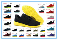 Wholesale running shoes for men and women Roshe run shoe sports shoes mens colors discount suede running sports shoe top quality