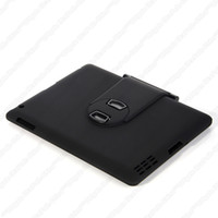 Wholesale A2 Degree Swivel Rotating Bluetooth Keyboard Case for iPad Black