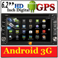 Android car audio dvd - DHL EMS inch touch screen car dvd android support G wifi bluetooth car stereo audio FM radio head Deck GPS TV