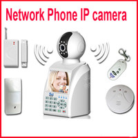 Wholesale New CCTV High performance Wireless Wifi wired network Phone IP Camera Call Video E mail degree alarm Home Security Remote monitor system