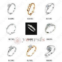 Wholesale Gorgeous K White Gold Plated Use High Quality Austrian Crystal Ring MX003