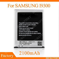 Wholesale high quality and hot selling mAh Replacement Battery EB L1G6LLU for Samsung Galaxy SIII S3 I9300