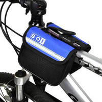 Wholesale Mountain bike Cycling Bike Bicycle Frame Pannier Front Tube double saddle Bag