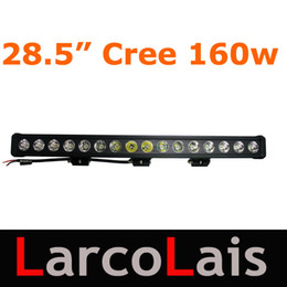 "28.5"" 160W Cree LED Light Bar Working Light Bar Flood Spot Beam Tractor Truck Trailer SUV Jeep Offroads Boat Super Bright"