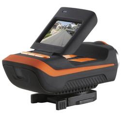 Promotion caméra de voiture de vélo 2016 Sport Bike Motorcycle Helmet caméra étanche voiture dvr caméra tachygraphe AT90T HD 1080P