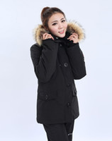 Cheap Down Coats down coat Best Women Middle_Length Down jacket