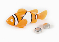Wholesale Singapore post New arrival Clownfish Nemo Robo Fish Robotic Fish toy for Children Kid christmas gift