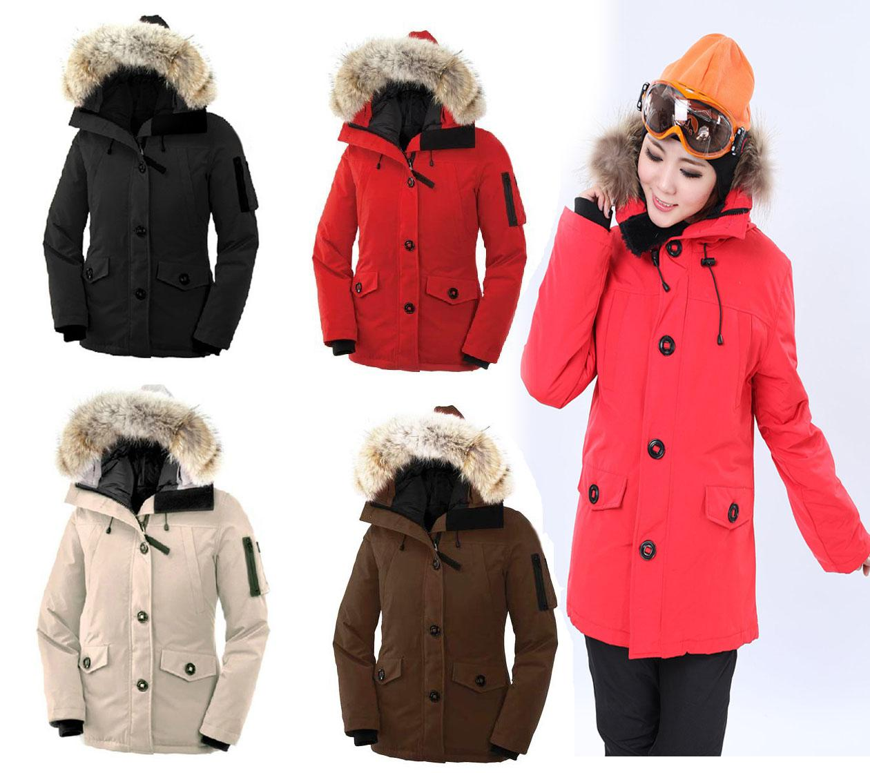 Hot Selling Classic Womens Monte Bellos Parka Down Jackets Coats ...