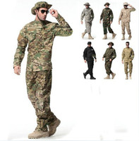 Wholesale PAINTBALL suit Combat BDU Uniform military uniform bdu hunting suit Wargame COAT PANTS