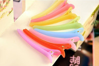 Hair Jewelry beak clips - accessories Jelly color hairpin Beak hair clips Word folder Dedicated disk hair Hairpin cm