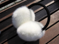 Wholesale Thermal faux plush earmuffs thermal earmuffs anti icer lovers ear muffs coarse autumn winter