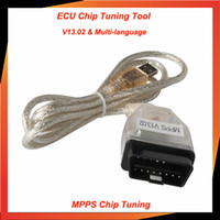 Wholesale SMPS MPPS K CAN V13 CAN Flasher Chip Tuning ECU Remap mpps v13 OBD2 Cable