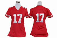 Wholesale Jenkins Game American Football Jerseys Super er Team Womens Athletic Shirts Red Sports Wear Well Made Discount Sports Uniforms