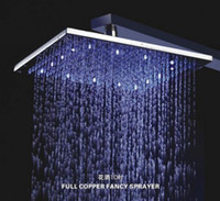 Wholesale 10 Inch Bathroom Rainfall Shower Head L A