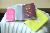 Wholesale travel passport cover ID Protect passport Holder colors choice visa passport case