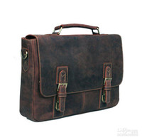 Wholesale leather Men s Brifecase laptop business bag Top quality Classical leather bag cra