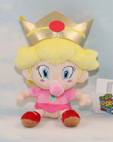 "Unisex 3-4 Years Video Games Wholesale - World New 6"" Baby Super Mario Bros plush toys Peach Princess Character stuffed dolls"