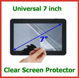 5000pcs Universal 7 inch Tablet Screen Protector Guard LCD Screen Protective film for Tablet PC MID GPS MP4 Size 155x92mm