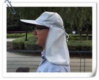 Wholesale white summer fishing hat sun hat topee Fishing cap Outdoor hat