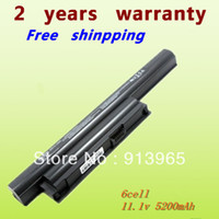 Wholesale NO CD laptop battery BPS22 VGP BPS22 VGP BPL22 VGP BPS22A VGP BPS22 A notebook battery for SONY VAIO E series mAh V