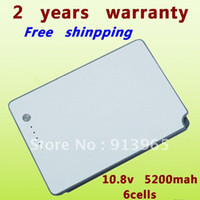 Wholesale NEW mAh Battery for Apple PowerBook G4 quot A1106 M8980J A M8981LL A M9421 M9422 M9676 A M9677 A M9969 A A1148