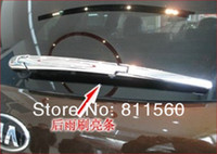 Wholesale 13 Kia Sorento Chrome ABS Rear Window Wiper Nozzle Cover Trim car trim