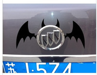 Whole Body batman wings - pieces Reflective Batman stickers for VW Buick Cool devil wings decals for car