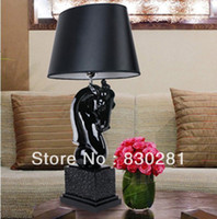 other other  2013 new arrived table lamp deer sculpt bed lamp home decoration free DHL shipping (MD-DD-006)