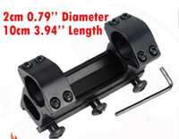 Wholesale 1 quot high profile mm ring mm dovetail rail base scope mount picatinny