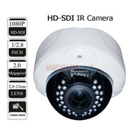 Wholesale CCTV Security MP COMS P HD SDI mm Lens IR Dome Vandal proof Camera D DNR digital WDR