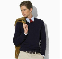 Wholesale new winter men s v neck cashmere sweater men s long sleeve sweater size S M L XL XXL XL