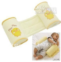 Rectangle Shell Bean Cotton Wholesale - 2012 free shipping New Cute Baby Toddler Safe Cotton Anti Roll Pillow Sleep Head Positioner wholesel