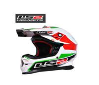 Wholesale ECE authentication LS2 OFF Road Helmet Motorcycle helmet Moto Racing helmet Ls2 MX456 Motorbike helmet with Glass fiber reinforced plastic